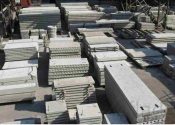 Железобетонные изделия (плиты перекрытия, ФБС, перемычки, дорожные плиты, кольца
