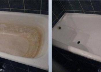 Реставрвция ванн акрилом