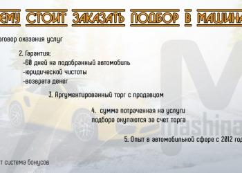 Проверка автомобиля перед покупкой автоподбор