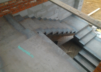 Изготовление металлических каркасов лестниц