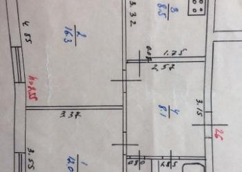 2-к квартира, 50 м2, 1/4 эт.
