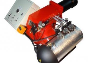 """Горелка на """"отработке"""", нефти AL-70V (300-750 кВт) для котла или парогенератора"""