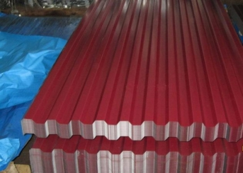 Профнастила Grand LineC21 Pe-0.35 мм,винно-красный