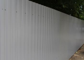 Профнастил С8 цветной 0.4мм 1.2х2м серый в наличии