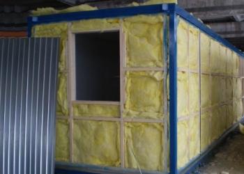Блок контейнер Эконом окно- пвх