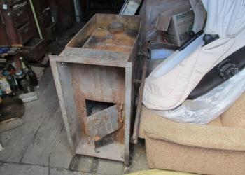 Печь дровяная банная