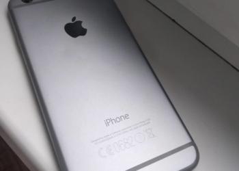 Продам iPhone 6 16 Гб серый