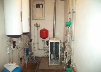 монтаж отопления  водопровода