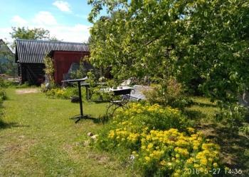 Продам участок в СНТ с фундаментом под дом,баней,финским туалетом,сараем,беседка