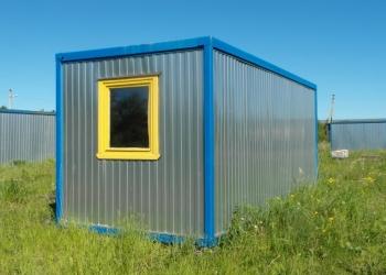 Блок-контейнеры 6х2,4х2,45м. - 2 шт. Новые.Складские остатки