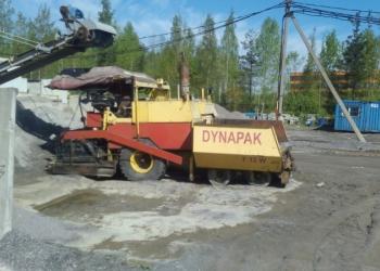 Продается асфальтоукладчик «11011R» DUNAPAK Германия, 1989 г.в.