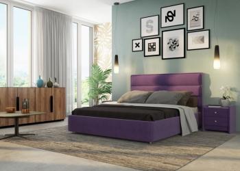 Элегантная современная кровать