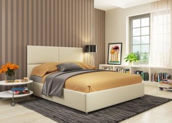 Кровать для любителей строгого интерьера