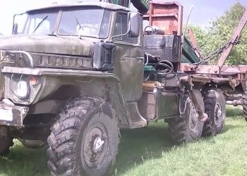 Урал5557 манипулятор  с роспуском