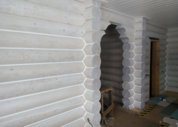 Услуги по отделке деревянных домов