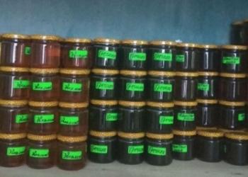 Красивые, вкусные и полезные орехи в мёде