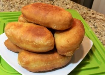 Жареные домашние пирожки