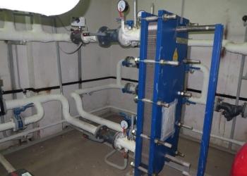 Расчет, установка, промывка и замена теплообменника