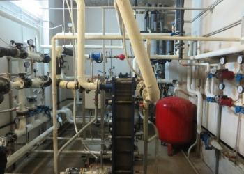 Монтаж теплового узла МКД с приборами учета тепловой энергии.