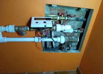 Установка индивидуального прибора учета тепловой энергии (теплосчетчик)