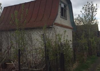 Дачный участок с кирпичным домом