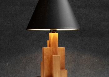 """Настольная лампа """"Небоскребы"""" для стильного лофта"""