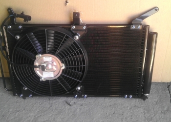 Радиатор кондиционера на Калину