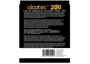 Спиртовые дрожжи Alcotec Batch 200, 86 грамм