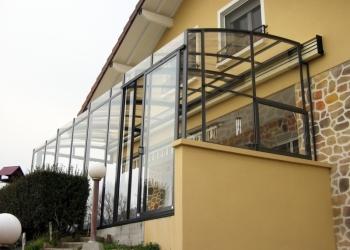Раздвижные павильоны для террас, веранд, балконов и патио