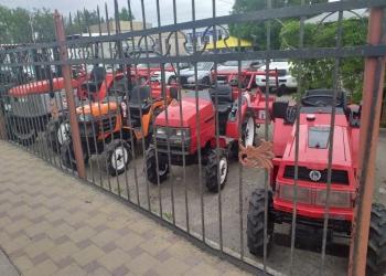 Японские мини тракторы Б/У без наработки по России