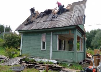 Снос (демонтаж) дома, ветхих построек