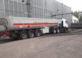 Газовоз в аренду(доставка газа)