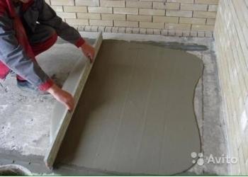 Цементно-песчанная смесь, цпс