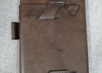 Кожаный блокнот органайзер