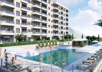 """Апартаменты с потрясающим видом на море в комплексе с бассейном """"STATUS"""""""