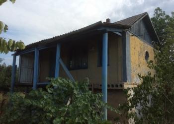 Продаю участок с домиком в Азовском районе хуторе Курган, недалёко от моста на