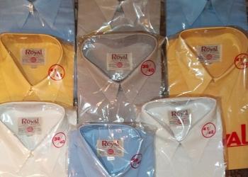 рубашки с коротким рукавом на пуговицах однотонные
