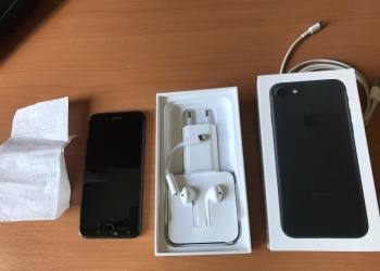 iPhone 7 32gb. Новый + чек