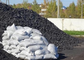 Уголь длиннопламенный фр.50/200 в мешках.