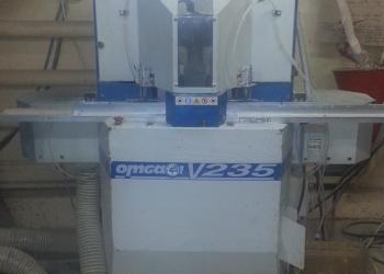 Усозарезной станок OMGA V-235 Италия ( 2-х пильная угловая торцовка)