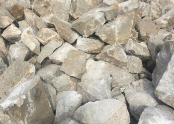 Скальный грунт, Щебень