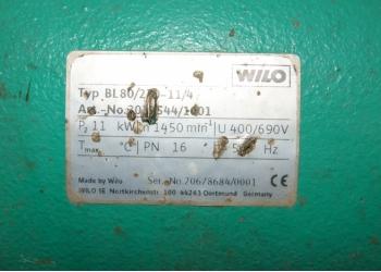 Насос Wilo BL 80/270-11-4