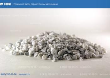 Крошка мраморная, щебень мраморный от завода-производителя URALZSM
