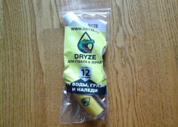 Антидождь Dryze, нанопокрытие против воды, грязи и наледи.