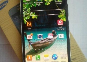 Sumsung Galaxy S4 mini 8 gb (+подарок - кожаный флип-кейс фирмы Iridium)