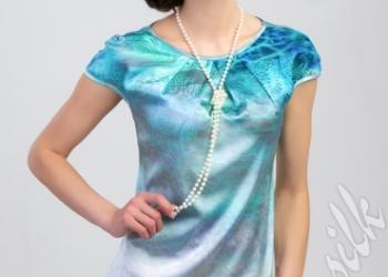 Блузки и платья из натурального шелка Splensilk