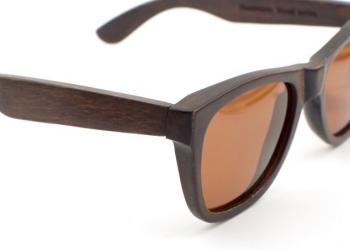 Деревянные очки ручной работы. Ручка в подарок