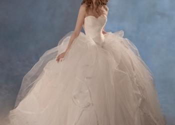 Красивое свадебное платье НЕДОРОГО!