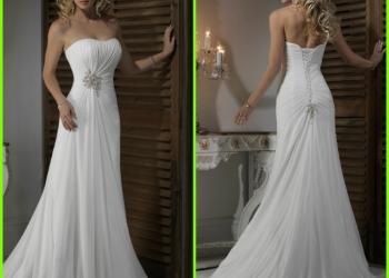 Продам новое свадебное платье 46р