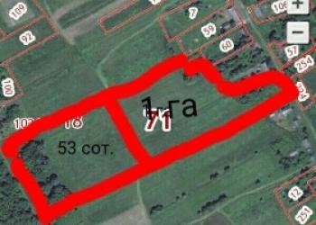 Продается земельный участок размером 100сот